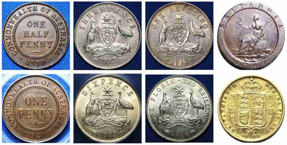 Australian Coin Values - TDK APDC Resource website